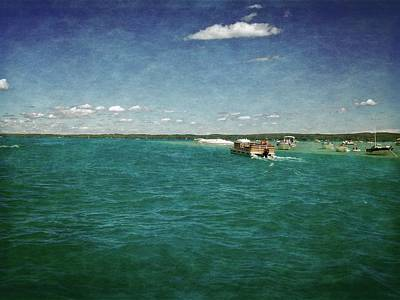 Photograph - Torch Lake Sandbar Dropoff by Michelle Calkins