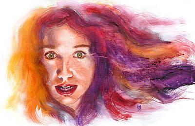 Tori Rainbow Art Print by Ken Meyer jr