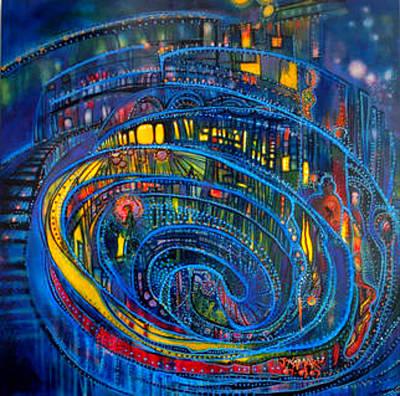 Torley World Tribute Art Print by Wispy Broome aka Joan Kamaru