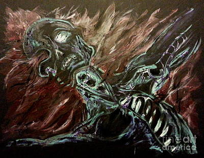 Painting - Tormented Soul by Reed Novotny
