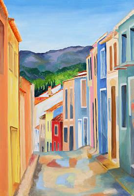 Painting - Tormos En Espana by Jenny anne Morrison