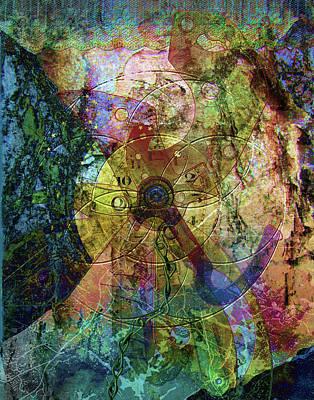 Digital Art - Torn Away by Linda Carruth