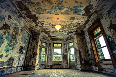 Photograph - Torn - Ohio State Reformatory - Mansfield Prison  by Gregory Ballos