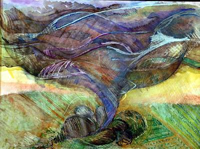 Tornado Drawing - Tornado 2 by Jame Hayes