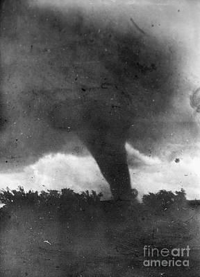 Photograph - Tornado, C1913-1917 by Granger