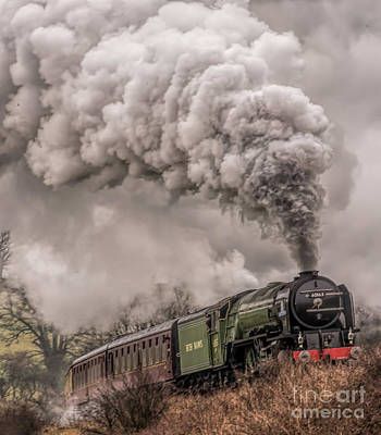 Photograph - Tornado Climbing From Grosmont by David  Hollingworth
