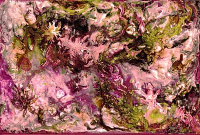 Impressionism Painting - Tornado Of Emotions by Amani Al Hajeri