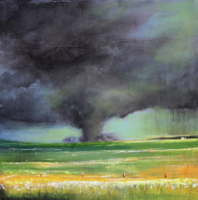 Tornado On The Move Art Print