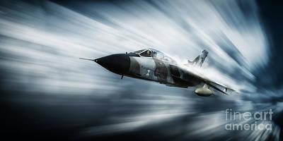 Tornado P.06 Art Print