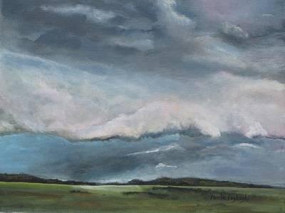 Painting - Tornado Warning by Paula Pagliughi