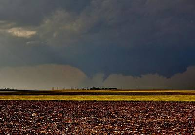 Photograph - Tornadoes Across The Fields by Ed Sweeney