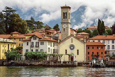 Photograph - Torno On Lake Como Italy by Joan Carroll