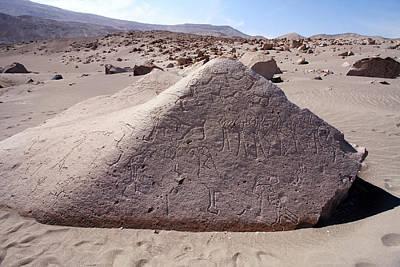 Photograph - Toro Muerto Petroglyph 11 by Aidan Moran