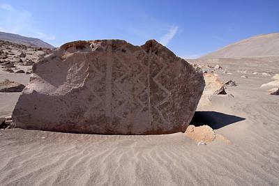 Photograph - Toro Muerto Petroglyph 12 by Aidan Moran
