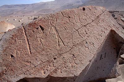 Photograph - Toro Muerto Petroglyph 13 by Aidan Moran
