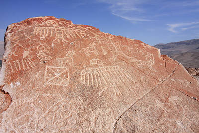Photograph - Toro Muerto Petroglyph 23 by Aidan Moran