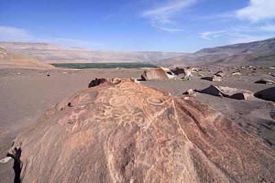 Photograph - Toro Muerto Petroglyph 28 by Aidan Moran