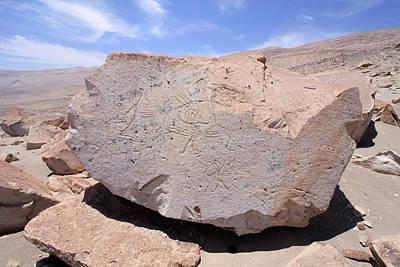 Photograph - Toro Muerto Petroglyph 32 by Aidan Moran