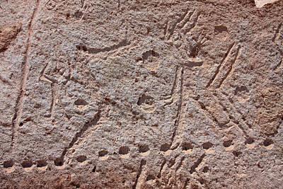 Photograph - Toro Muerto Petroglyph 35 by Aidan Moran