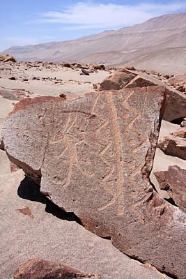 Photograph - Toro Muerto Petroglyph 36 by Aidan Moran