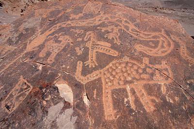 Photograph - Toro Muerto Petroglyph 44 by Aidan Moran