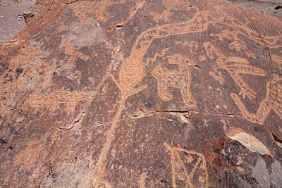 Photograph - Toro Muerto Petroglyph 45 by Aidan Moran