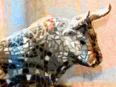 Most Sold Painting - Toro Taurus Bull by Lutz Baar