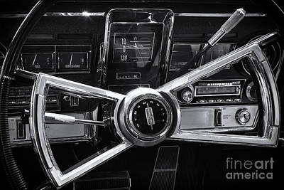 Photograph - Toronado Steering by Dennis Hedberg