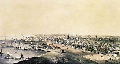 Drawing - Toronto, 1854.  by Granger