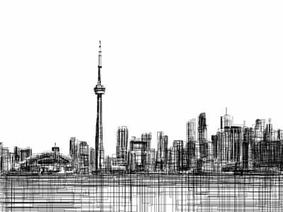 Toronto 2 Art Print by Harold Belarmino