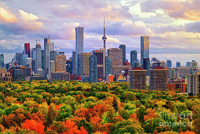 Photograph - Toronto Autumn 2017 by Charline Xia