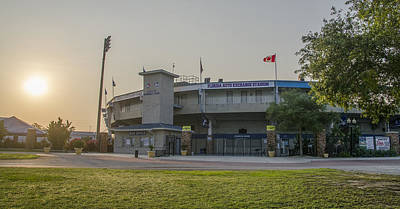 Spring Training Photograph - Toronto Blue Jays - Florida Auto Exchange Stadium by Bill Cannon