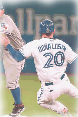 Photograph - Toronto Blue Jays Josh Donaldson 3 by Joe Hamilton