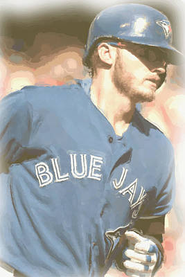Photograph - Toronto Blue Jays Josh Donaldson 4 by Joe Hamilton