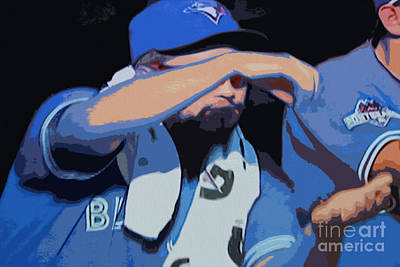 Digital Art - Toronto Blue Jays Stir It Up by Nina Silver