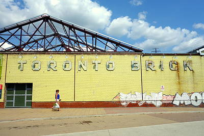 Photograph - Toronto Brick by Valentino Visentini