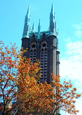 Photograph - Toronto Church by Randall Weidner