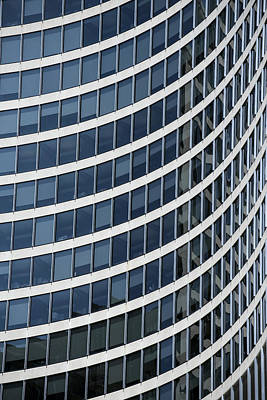Futurism Architecture Wall Art - Photograph - Toronto City Hall - East Tower by Rick Shea