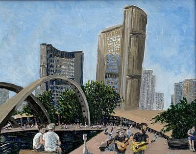 Toronto City Hall Original by Ian Duncan MacDonald