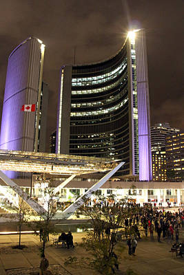 Photograph - Toronto City Hall by Munir Alawi