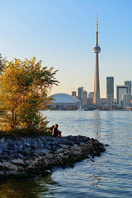 Photograph - Toronto Cn Tower by Songquan Deng