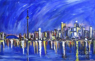 Painting - Toronto by Debora Cardaci