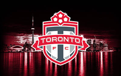 Digital Art - Toronto Fc Artwork by Nicholas Legault