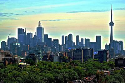 Photograph - Toronto From The West by Frozen in Time Fine Art Photography