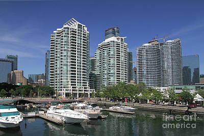 Photograph - Toronto Harbour Front by Teresa Zieba