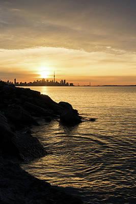 Photograph - Toronto Lakeshore Vortex - by Georgia Mizuleva