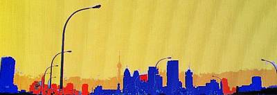 Photograph - Toronto Lemon Skyline by Ian  MacDonald