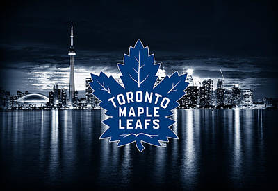 Toronto Maple Leafs Digital Art - Toronto Maple Leafs Nhl Hockey by Nicholas Legault