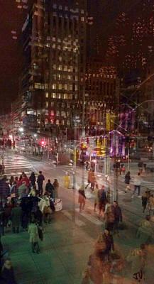 Photograph - Toronto Nightlife Scene by Jim Vance