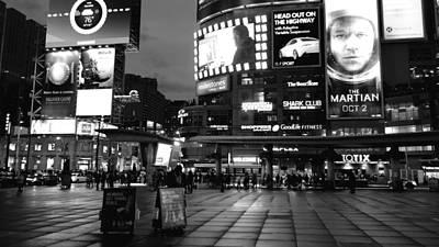 Photograph - Toronto Noir by Valentino Visentini